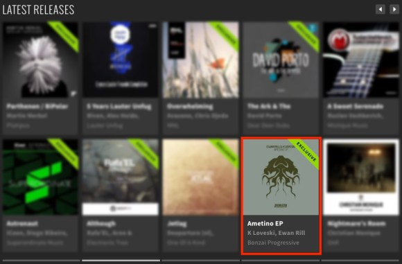 EWAN RILL & K LOVESKI – AMETINO EP FEATURED BY BEATPORT