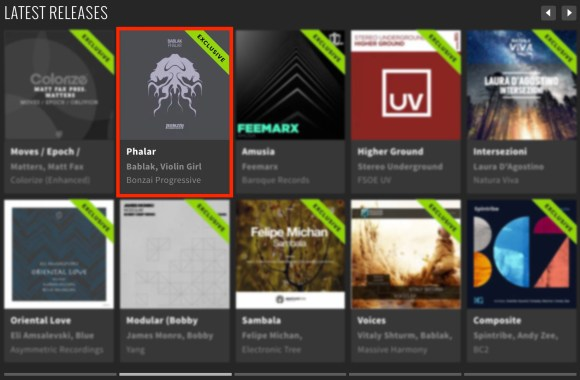 BABLAK – PHALAR FEATURED BY BEATPORT