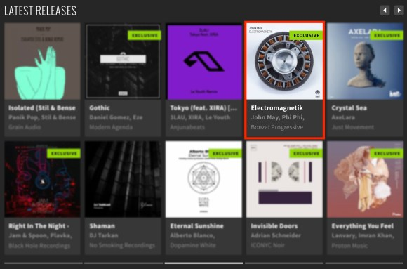 JOHN MAY – ELECTROMAGNETIK FEATURED BY BEATPORT