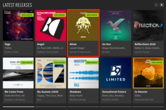 JACOB SINGER – ALISIO FEATURED BY BEATPORT