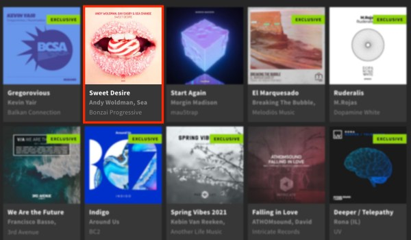 ANDY WOLDMAN, GAV EASBY & SEA CHANGE – SWEET DESIRE FEATURED BY BEATPORT