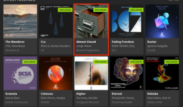 JORGE VIANA – ALMOST CLOSED DRAWER FEATURED BY BEATPORT