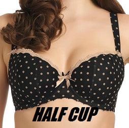 Half cup
