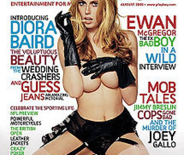 Diora Baird On The August  Cover Of Playboy