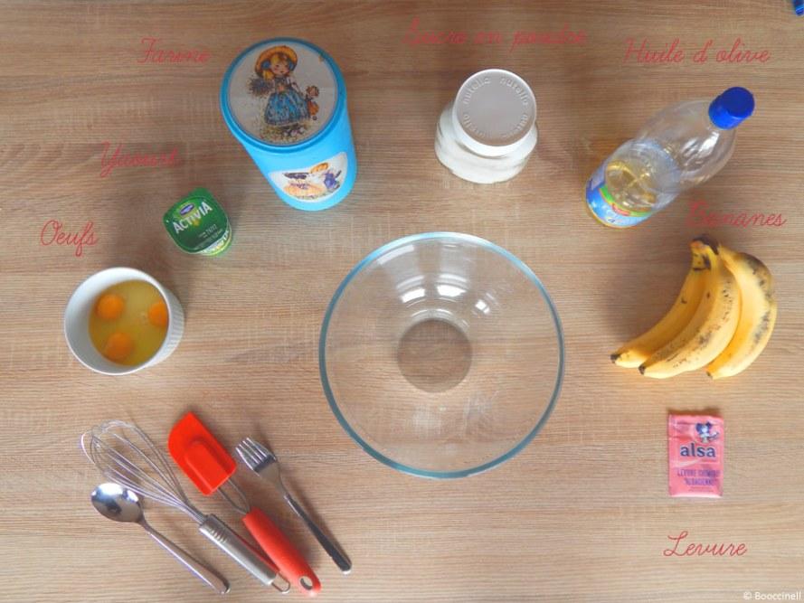 Recette de gâteau à la banane