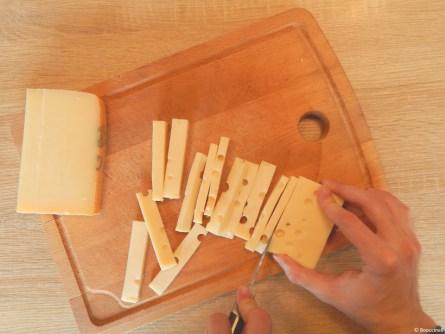 Bâtonnets de fromages
