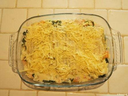 lasagnes saumon et épinards