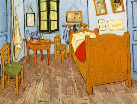 La chambre de Van Gogh à Arles.