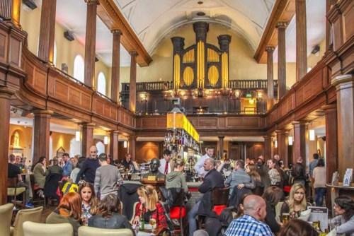 visiter Dublin en une journée Church Bar