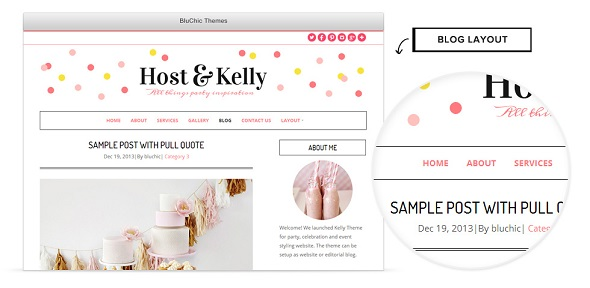 Wp theme Kelly
