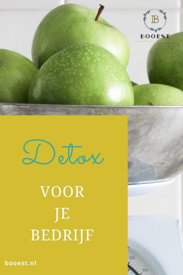 Detox voor je bedrijf www.www.booest.nl/detox-voor-je-bedrijf