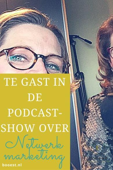 Te gast in de podcastshow over netwerkmarketing