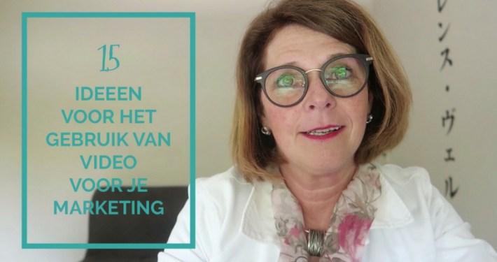 15 ideeën voor het gebruik van video voor je social media marketing