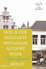 Hoe je een ingezakte Instagram account weer springlevend krijgt