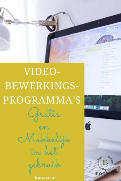 Videobewerkings-programma's die gratis en makkelijk in gebruik zijn