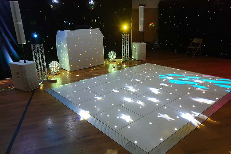 bespoke dj disco complete hire packages