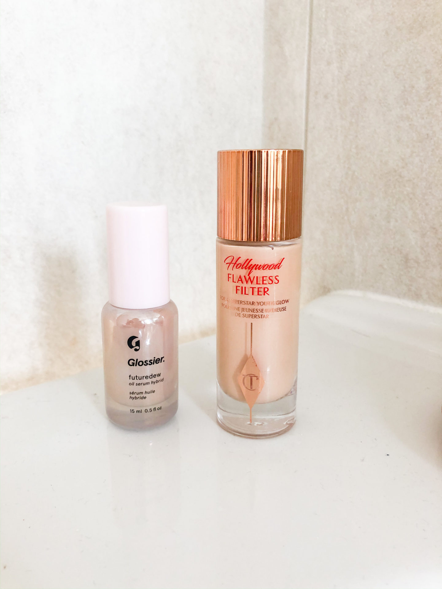 Is Glossier's Future Dew a Future-Dupe of this Charlotte Tilbury favorite?