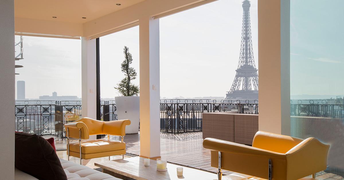 Les 9 Plus Belles Terrasses Dappartements Parisiens