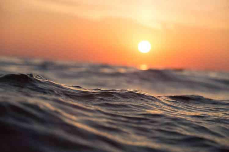 Sulle rive del mare silente