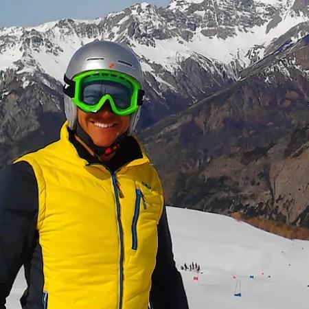 Roberto Ski Instructor Chamonix