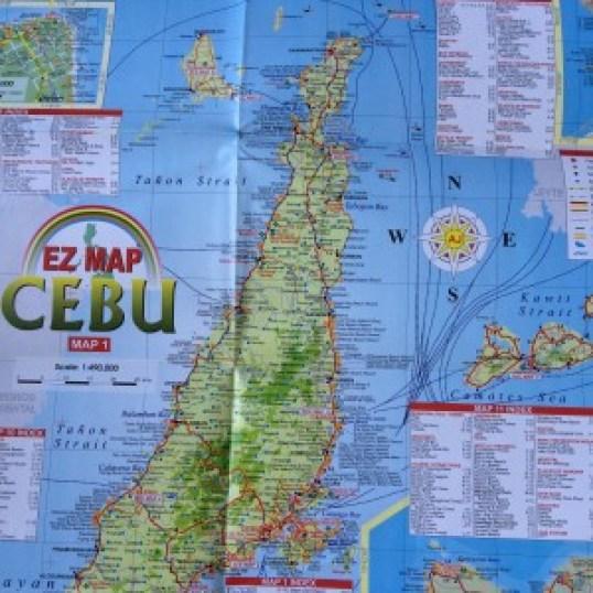 North of Cebu map