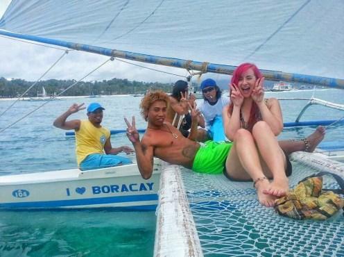 Boracay Sailing and snorkeling