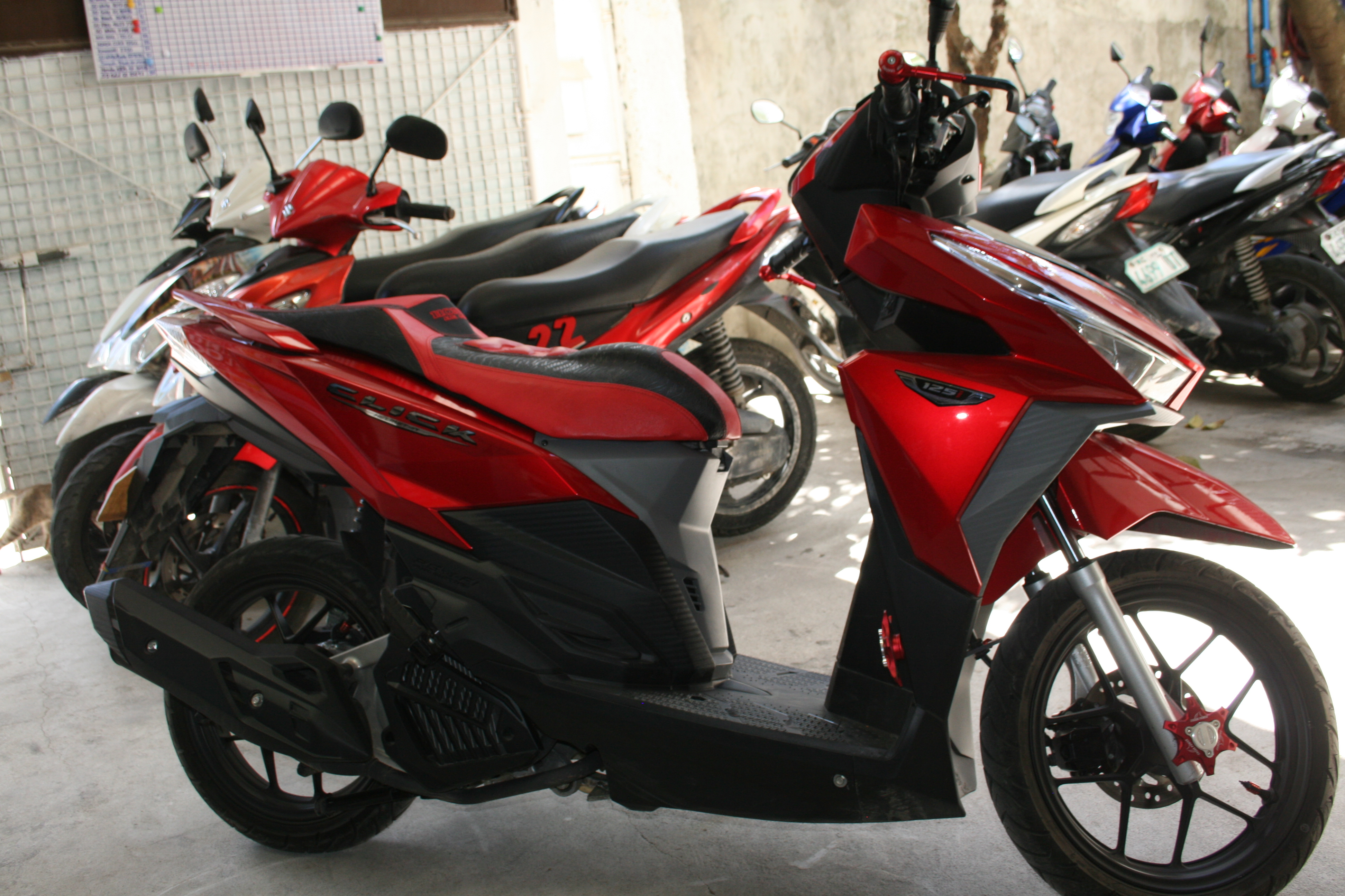 Rent A Motorbike In Cebu City - Reliable  Cheap