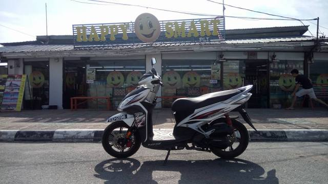 Rent a motorbike in Langkawi Island malaysia