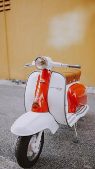 Ride a scooter in the Philippines