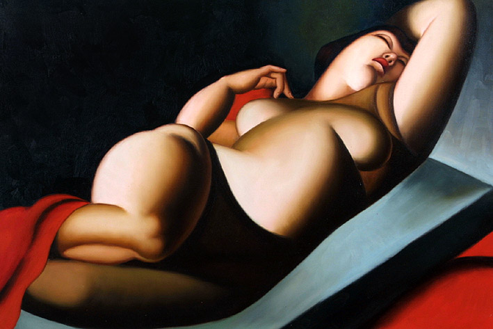 Beautiful Rafaela by Tamara de Lempicka