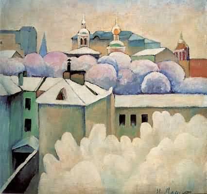 Ilya Mashkov Winter Landscape