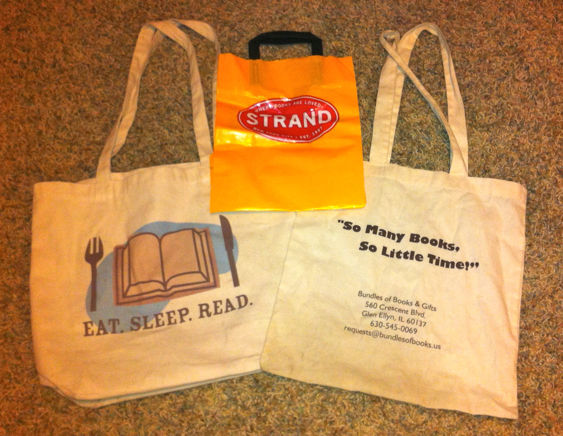 """The Strand — Saved from my purchase at The Strand """"So Many Books 0c35d785ac48a"""