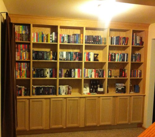 The Book Addict's Guide Bookcase!
