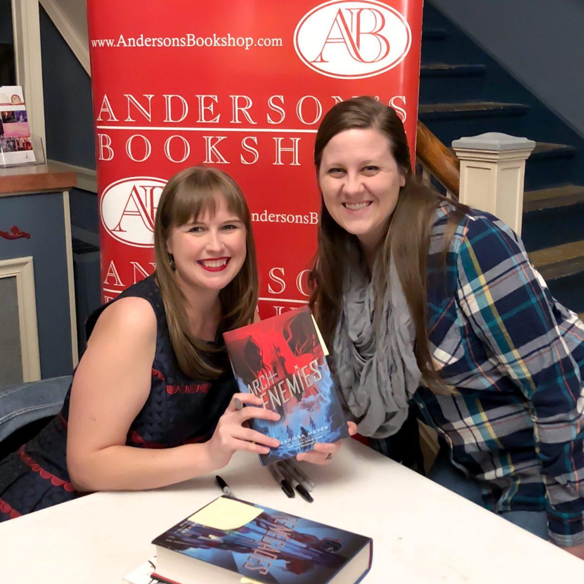 Exclusive Interview with Marissa Meyer on the Archenemies Tour!