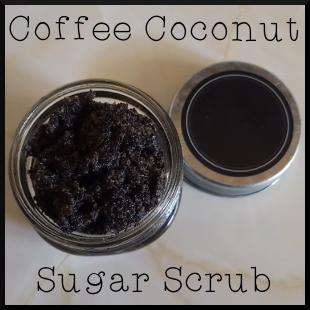 Coffee Coconut Sugar Scrub
