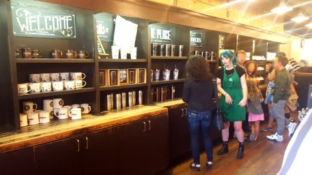 First Starbucks Display 2