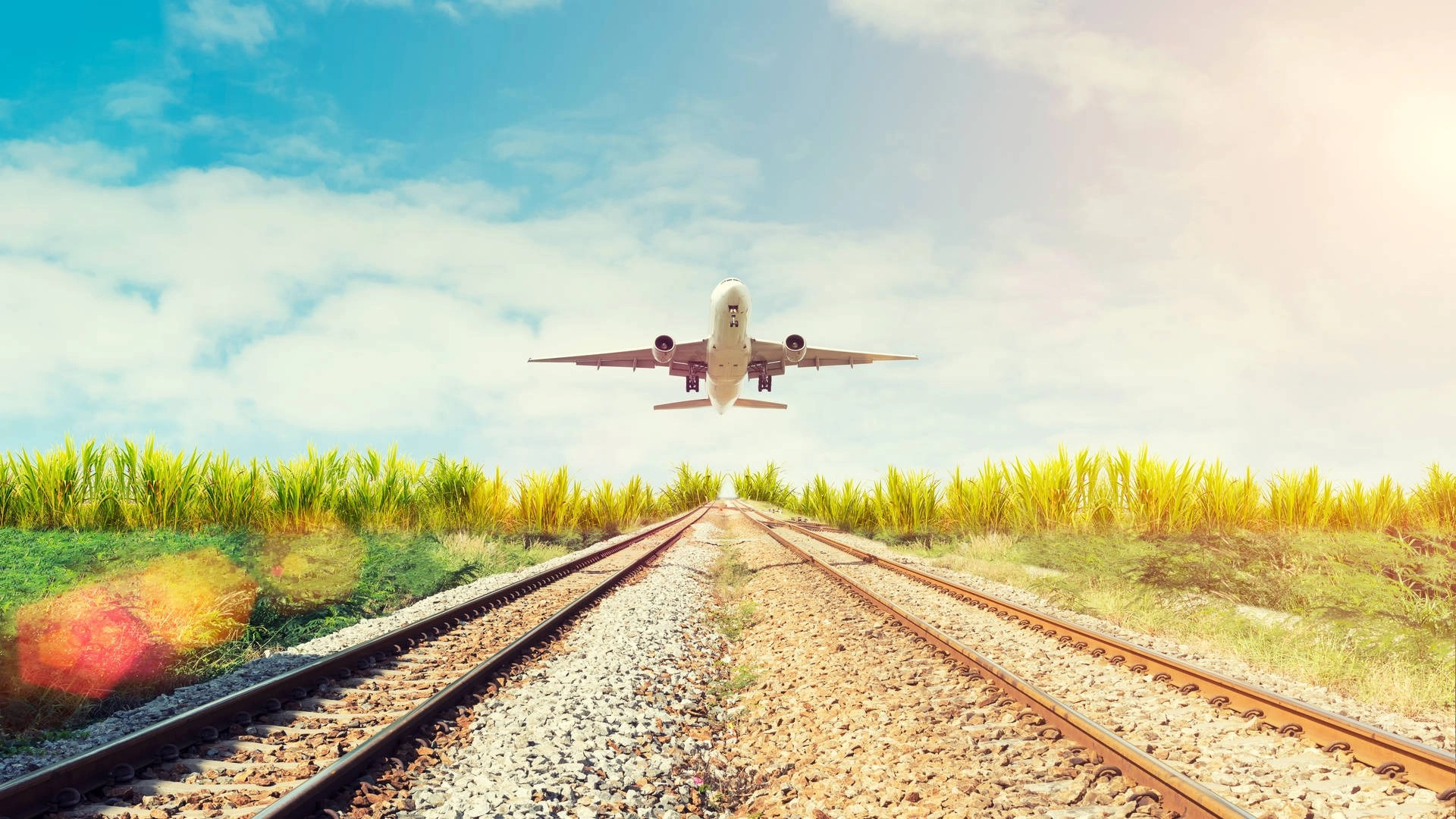 The environmental impact of taking a train vs. flying