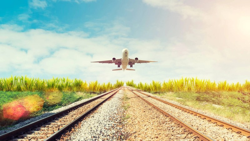 Plane vs. train