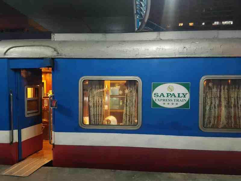 Sapaly Express Train from Hanoi to Sapa