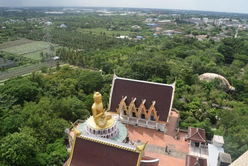 Wat Samphran view