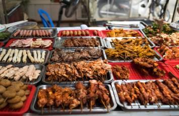 Street food, Sapa, Vietnam