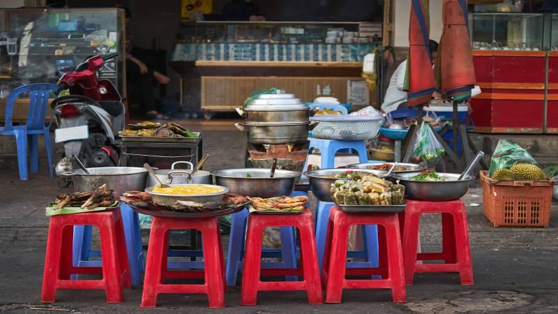Street food, Phnom Penh, Cambodia