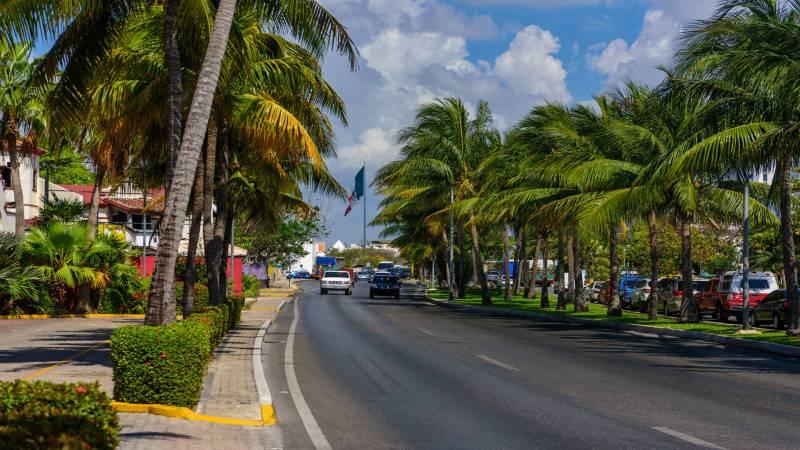 Cancun roads