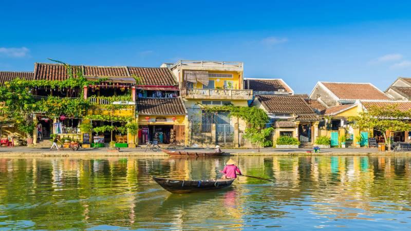 View of Hoi An, Vietnam