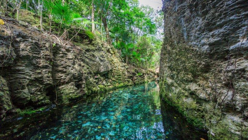 Blue River, Xcaret Park