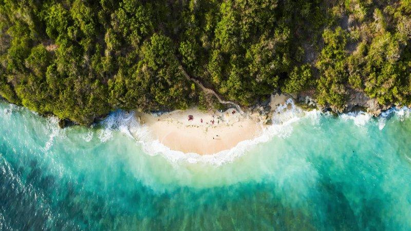 Green Bowl Beach, South Bali, Indonesia
