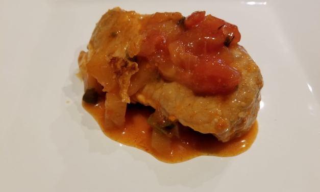 Pork Chops in Pineapple Salsa