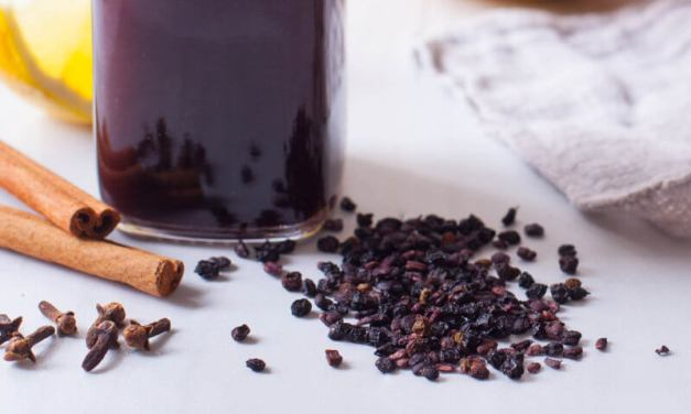 FIGHT THE FLU!!! Elderberry Syrup Recipe for the Instant Pot