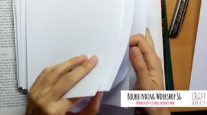 casebinding-assembling book signatures