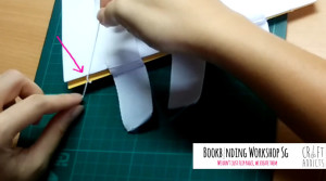 casebinding-how to join the first 2 book signatures together